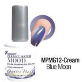 LeChat Perfect Match MOOD MPMG12 BLUE MOON Color Changing UV LED Gel Polish