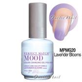 LeChat Perfect Match MOOD MPMG20 LAVENDER BLOOMS Color Changing UV LED Gel Polish