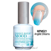 LeChat Perfect Match MOOD MPMG21 ANGELIC DREAMS Color Changing UV LED Gel Polish
