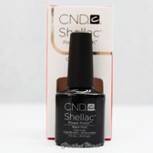 CND Shellac UV Gel Polish - BLACK POOL 40518 7.3ml 0.25oz Black Color Basic Collection