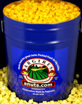Gourmet Argires Popcorn BIG Blue Gift Tin. 6.5 gallon size. Cheese or Cheese & Caramel Mix or all Caramel Popcorn. Chicago Downtown Style Quality. Made fresh for great taste. Packed fresh for big smiles.