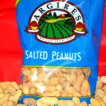 Argires Chicago Baseball Blue Bag 16oz In Shell Salted Peanuts
