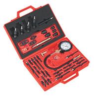 Sealey VS2044 Diesel Engine Compression Test Kit - Master