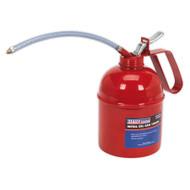 Sealey TP1000 Metal Oil Can Flexible Spout 1000ml