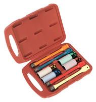 "Sealey AK2243 Torque Stick & Aluminium Wheel Impact Socket Set 8pc 1/2""Sq Drive"