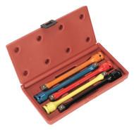 """Sealey AK2242 Torque Stick Set 5pc 1/2""""Sq Drive"""