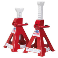 Sealey VS2012 Axle Stands (Pair) 12tonne Capacity per Stand Ratchet Type