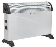 Sealey CD2005 Convector Heater 2000W/230V 3 Heat Settings Thermostat