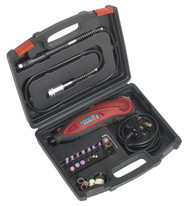 Sealey E540 Multipurpose Rotary Tool & Engraver Kit 40pc 230V