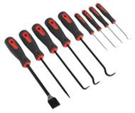 Sealey AK5209 Scraper & Hook Set 9pc