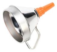 Sealey FM16 Funnel Metal with Filter åø160mm