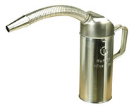 Sealey JM1F Measuring Jug Metal with Flexible Spout 1ltr