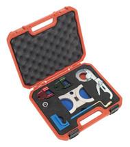 Sealey VSE130 Petrol Engine Setting/Locking Kit - Saab, Vauxhall/Opel 2.5, 2.6, 3.0, 3.2 V6 - Belt Drive