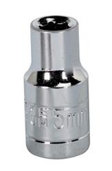"Sealey S1405 WallDriveå¬ Socket 5mm 1/4""Sq Drive"