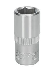 "Sealey S1408 WallDriveå¬ Socket 8mm 1/4""Sq Drive"