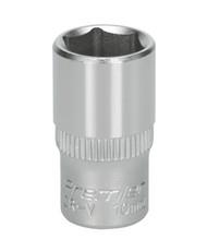 "Sealey S1410 WallDriveå¬ Socket 10mm 1/4""Sq Drive"