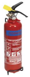 Sealey SDPE01 Fire Extinguisher 1kg Dry Powder