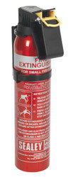 Sealey SDPE006D Fire Extinguisher 0.6kg Dry Powder - Disposable