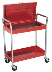 Sealey CX104 Trolley 2-Level Heavy-Duty with Lockable Top