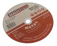 Sealey PTC/230CT Cutting Disc åø230 x 1.9mm 22mm Bore