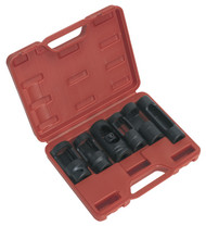 "Sealey SX0401 Diesel Injector Window Socket Set 6pc 1/2""Sq Drive"