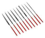 Sealey AK577 Diamond Needle File Set 10pc