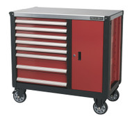 Sealey AP2418 Mobile Workstation 8 Drawer with Ball Bearing Runners