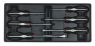 Sealey TBT14 Tool Tray with Screwdriver Set 6pc