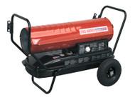 Sealey AB1258 Space Warmerå¬ Paraffin/Kerosene/Diesel Heater 125,000Btu/hr with Wheels