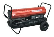 Sealey AB1758 Space Warmerå¬ Paraffin/Kerosene/Diesel Heater 175,000Btu/hr with Wheels