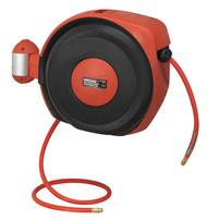 Sealey SA822 Auto Rewind Control Air Hose Reel 15mtr åø10mm ID - Rubber Hose