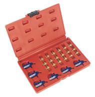 Sealey VS2047 Injector Adaptor Set - Delphi & Denso
