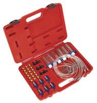 Sealey VS2048 Diesel Injection Leak Back Master Kit - Bosch/Delphi/Denso