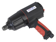 """Sealey GSA6004 Composite Air Impact Wrench 3/4""""Sq Drive Twin Hammer"""