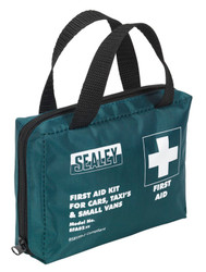 Sealey SFA02 First Aid Kit Medium for Cars, Taxis & Small Vans - BS 8599-2 Compliant