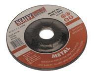 Sealey PTC/125G Grinding Disc åø125 x 6mm 22mm Bore