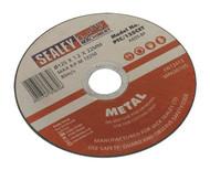 Sealey PTC/125CET Cutting Disc åø125 x 1.2mm 22mm Bore