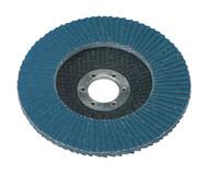 Sealey FD12580 Flap Disc Zirconium åø125mm 22mm Bore 80Grit