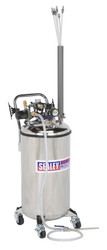 Sealey TP201 Fuel Tank Drainer 90ltr Stainless Steel