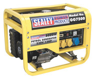 Sealey GG7500 Generator 6000W 110/230V 13hp