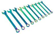Sealey AK6308 Combination Spanner Set 10pc Metric Titanium Coated