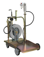 Sealey AK4562D Oil Dispensing System Air Operated with 10mtr Retractable Hose Reel