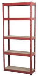 Sealey AP6150 Racking Unit with 5 Shelves 150kg Capacity Per Level