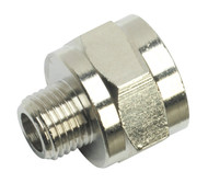 "Sealey SA1/1412F Adaptor 1/4""BSPT Male to 1/2""BSP Female"