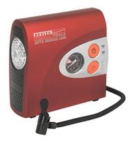 Sealey MAC01 Mini Air Compressor with Work Light 12V