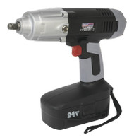 "Sealey CP2450 Cordless Impact Wrench 24V 1/2""Sq Drive 410lb.ft"