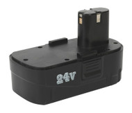 Sealey CP2450BP Cordless Power Tool Battery 24V 1.7Ah Ni-Cd for CP2450