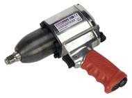"""Sealey GSA03 Air Impact Wrench 1/2""""Sq Drive Pin Clutch"""