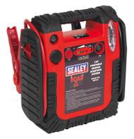 Sealey RS132 RoadStartå¬ Emergency Power Pack with Air Compressor 12V 900 Peak Amps