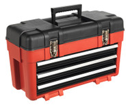 Sealey AP1003 Toolbox 585mm 3 Drawer Portable